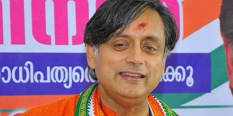 Congress Lok Sabha MP Shashi Tharoor