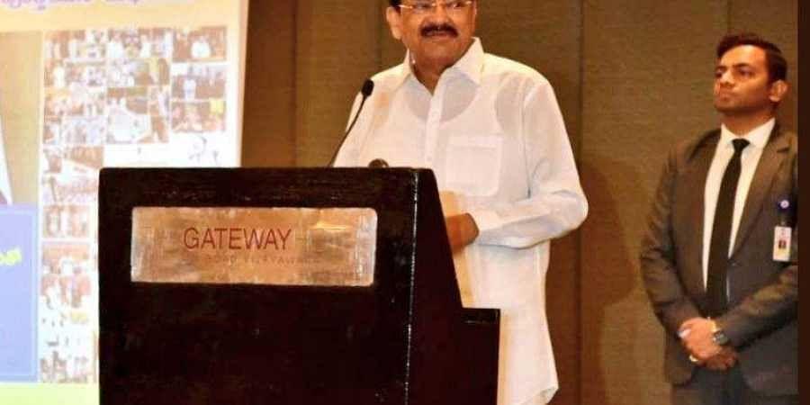 Vice President M Venkaiah Naidu