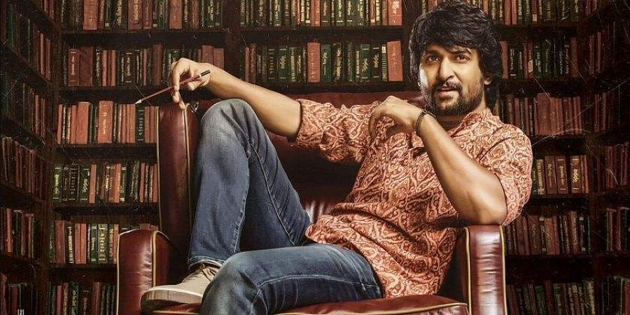 Nani in a still from 'Gang Leader'