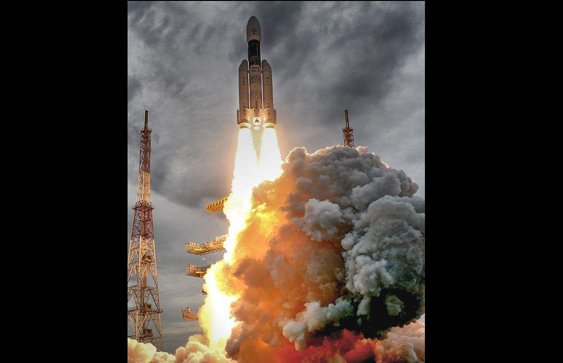 ISRO successfully launched Chandrayaan-2