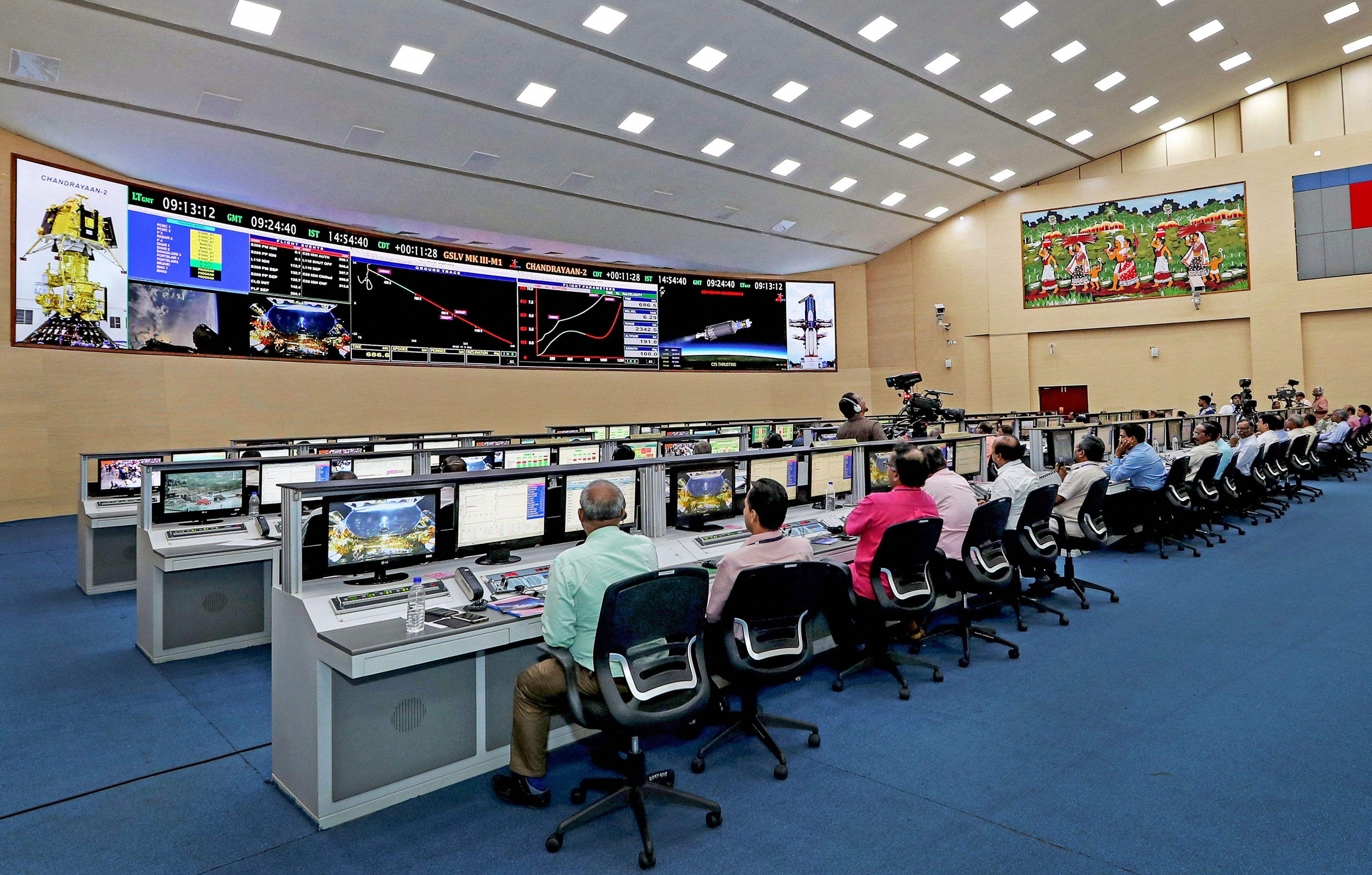 First earthbound orbit-raising manoeuvre for Chandryaan-2 spacecraft performed