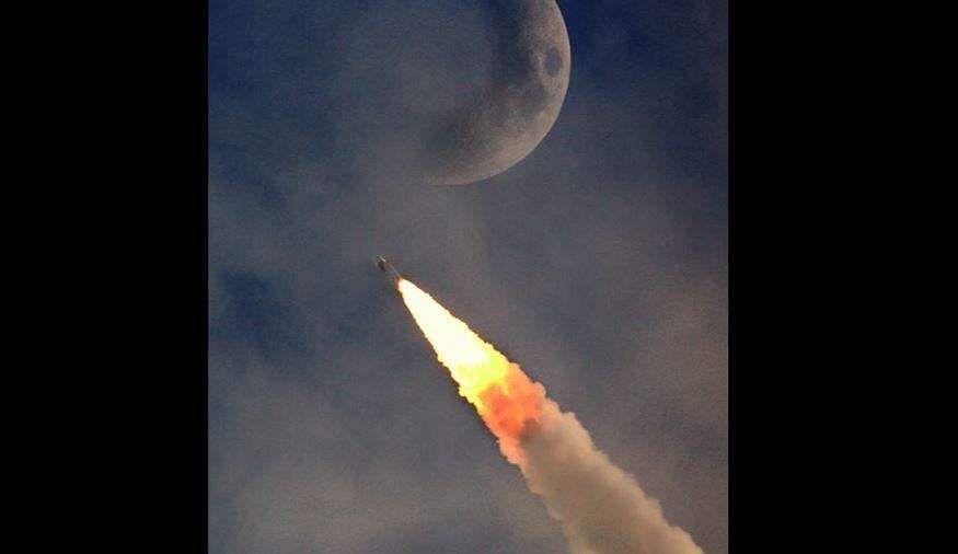 Second earthbound orbit-raising manoeuvre for Chandryaan-2 spacecraft performed.