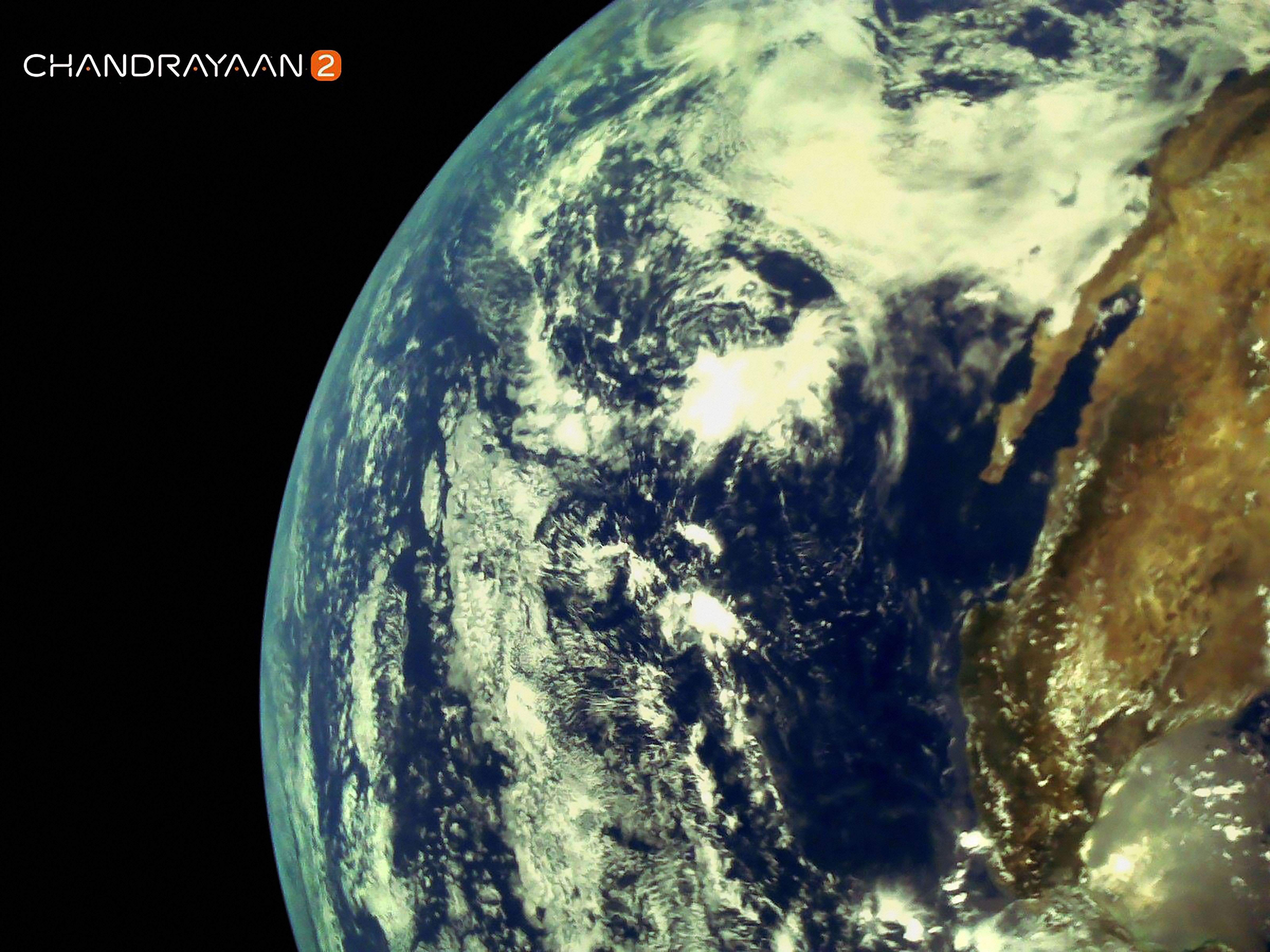 ISRO released first moon image captured by Chandrayaan-2's LI4 Camera