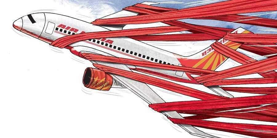 Air India (Illustration | Amit Bandre, EPS)