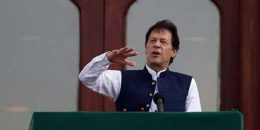 Pakistan's Prime Minister Imran Khan