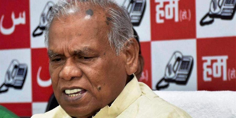 Former Bihar CMJitan Ram Manjhi
