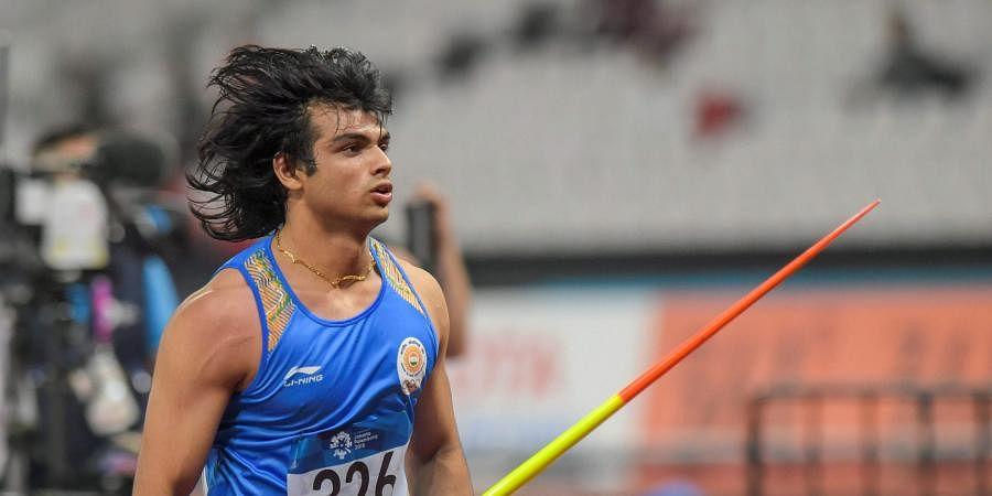 Indian athlete Neeraj Chopra
