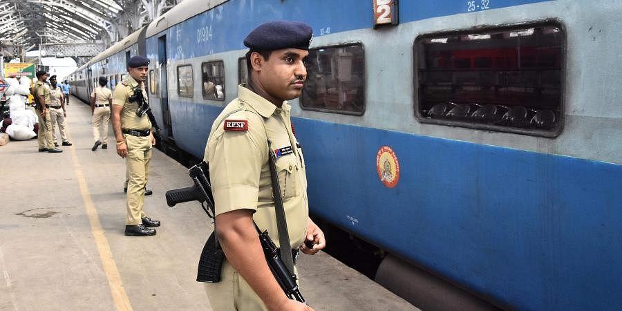 railway police