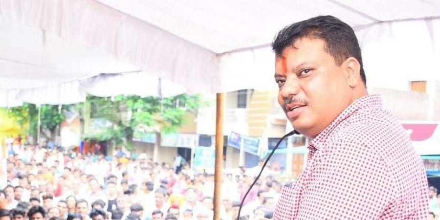 Madhya Pradesh Forest Minister Umang Singhar