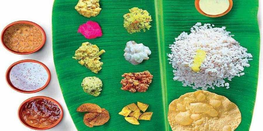 Onam meal, Kerala meal