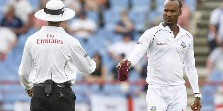 Kraigg Brathwaite reported for suspect action