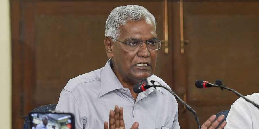 CPI general secretary D Raja