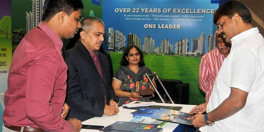 The Express Property Expo-2019, jointly organised by TNIE and real estate firm Aparna, was inaugurated by Bonthu Rammohan