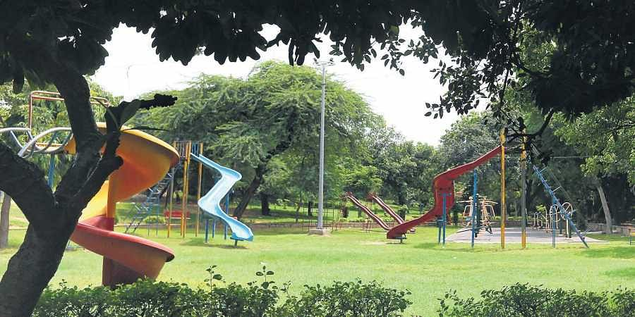 Parvin Paul along with other residents of Vinoba Puri in Lajpat Nagar II sought the help of local authorities to rehabilitate the Lala Lajpat Rai Park.