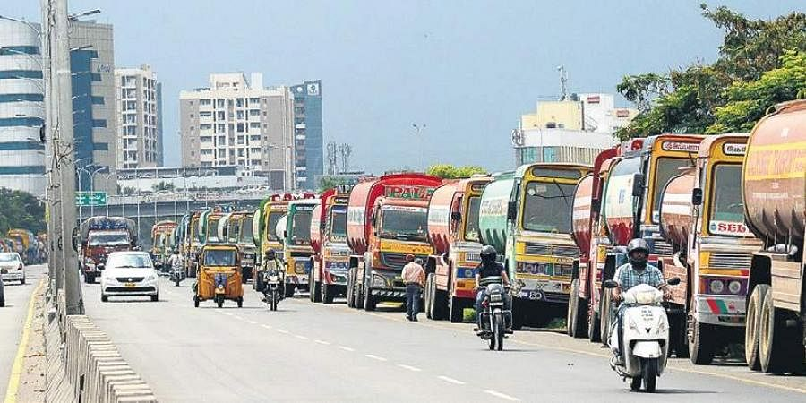 Chennai metro water lorry image used for representational purposes only. (Photo | EPS)