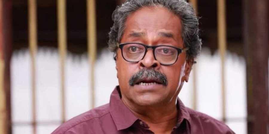 Veteran actor and director Rajasekar