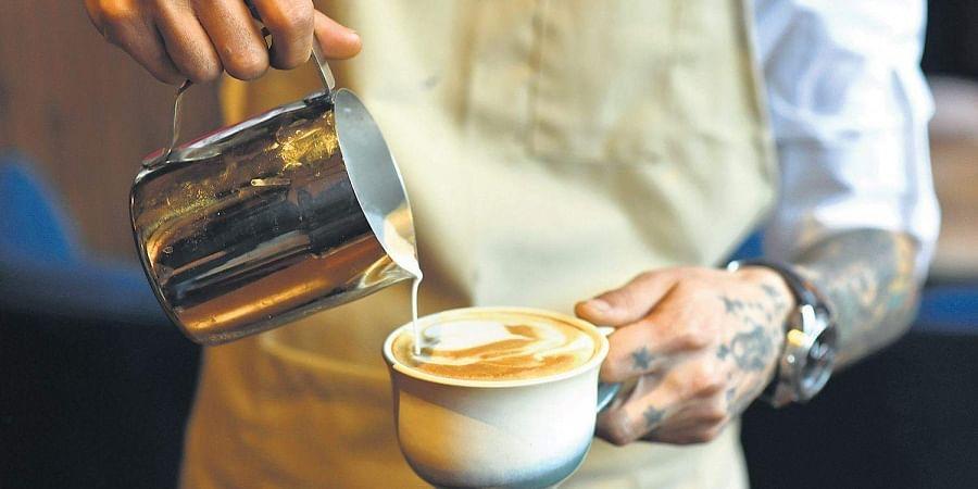brew, coffee, latte, cafe