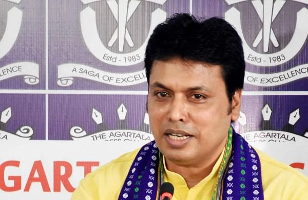 FIR against Tripura CM for spreading 'fake information' on COVID-19
