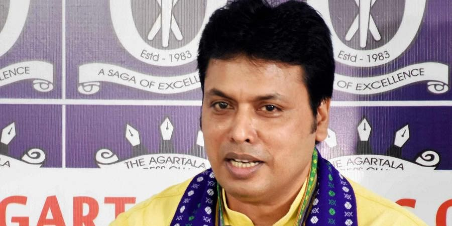 Tripura CM Biplab Kumar Deb backs Amit Shah's 'one nation, one language' call