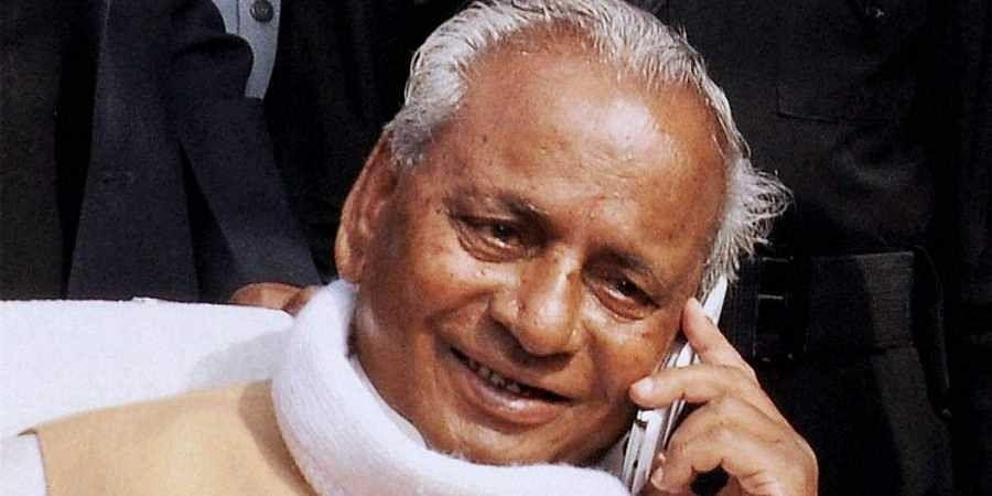 Outgoing Rajasthan Governor Kalyan Singh