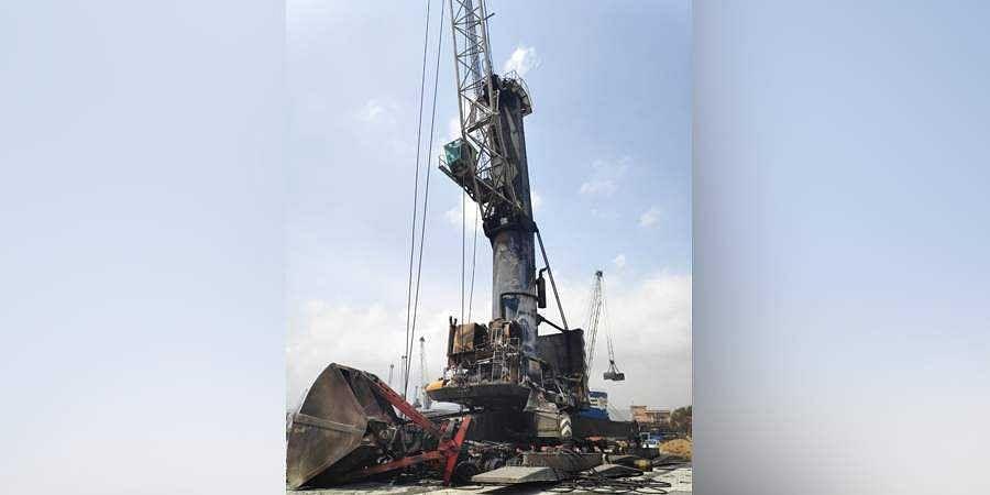 Visakhapatnam crane accident