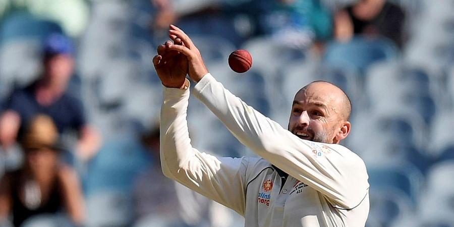 Australia's Nathan Lyon. (Photo | AP)