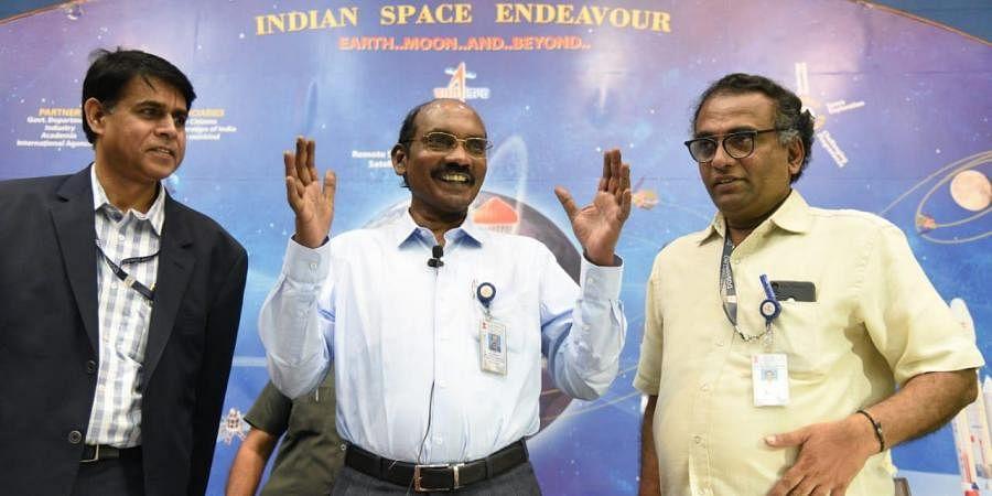 ISRO Chairman K Sivan during a press meet in Bengaluru on Wednesday