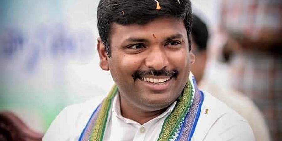 YSR Congress MLAGudivada Amarnath