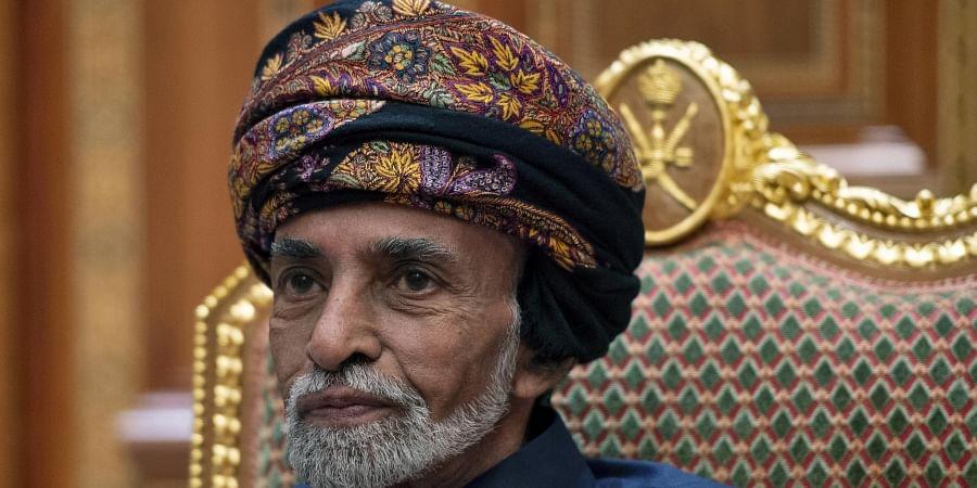 Sultan of Oman Qaboos