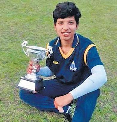 16-year-old Richa Ghosh