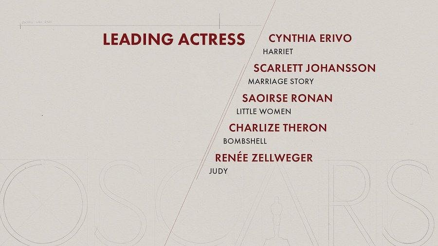 Here are the nominees for 'Leading Actress' category