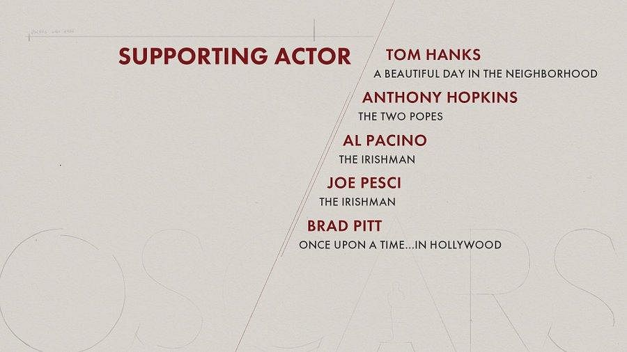 Here are the nominees for 'Supporting Actor' category