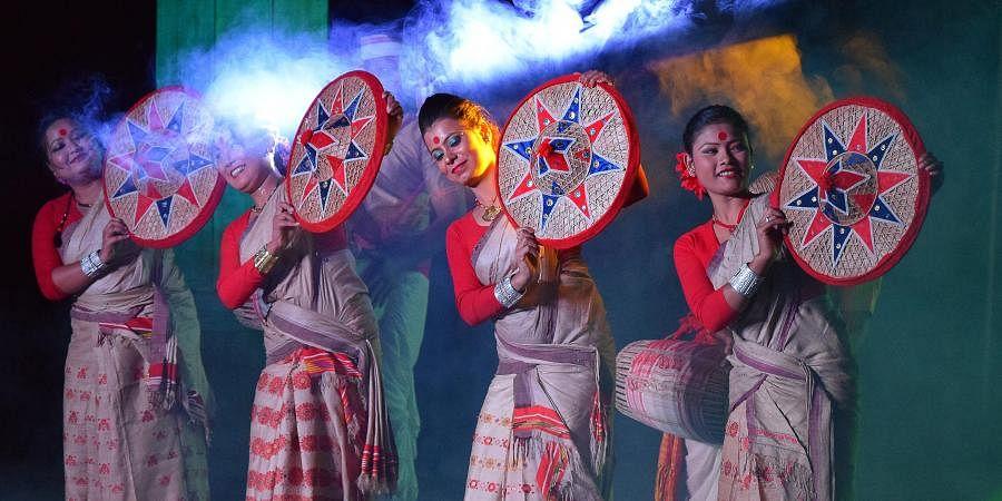 Bihu folk dance