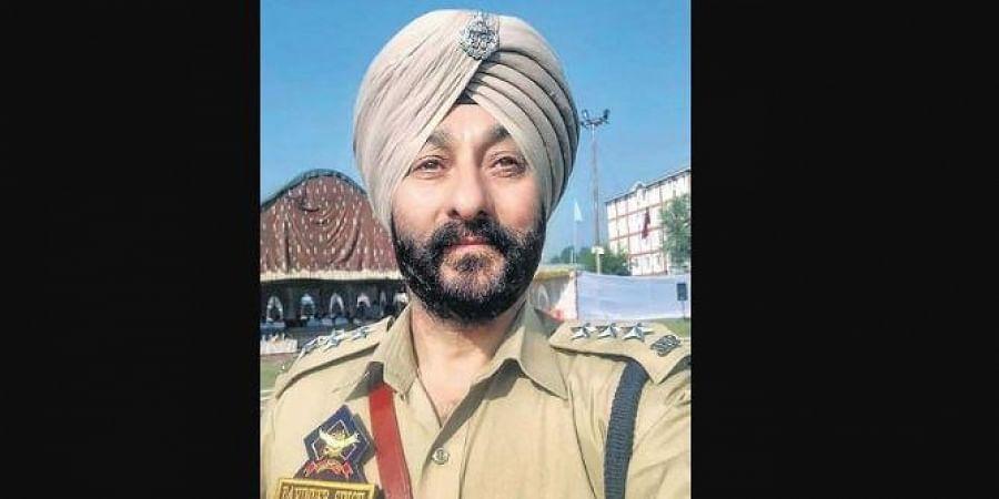 Senior Jammu and Kashmir police officer Davinder Singh