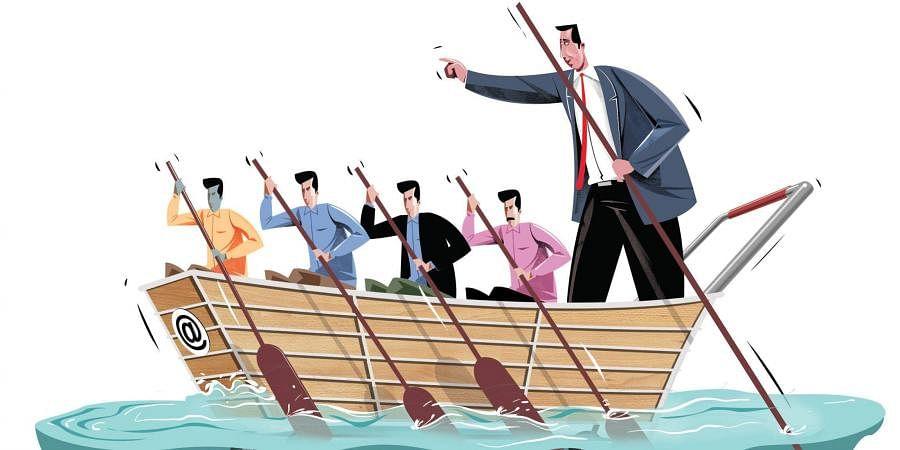 E commerce sites (Express Illustration | Tapas Ranjan)