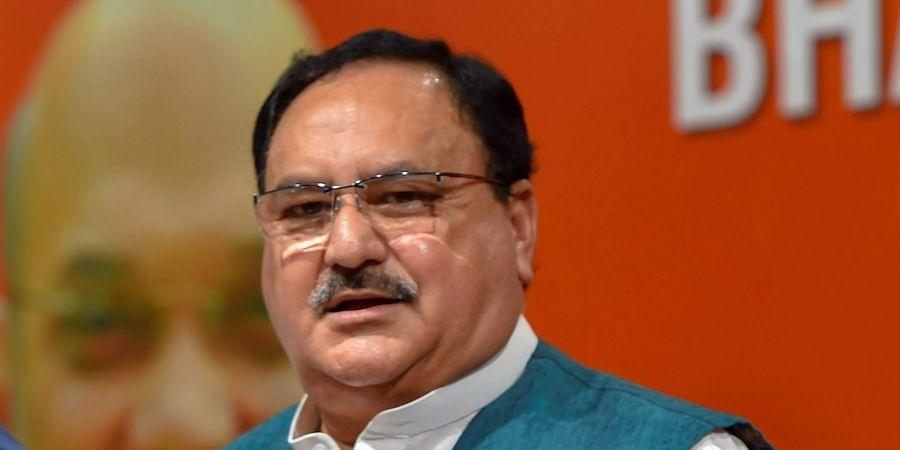 BJP national working president JP Nadda