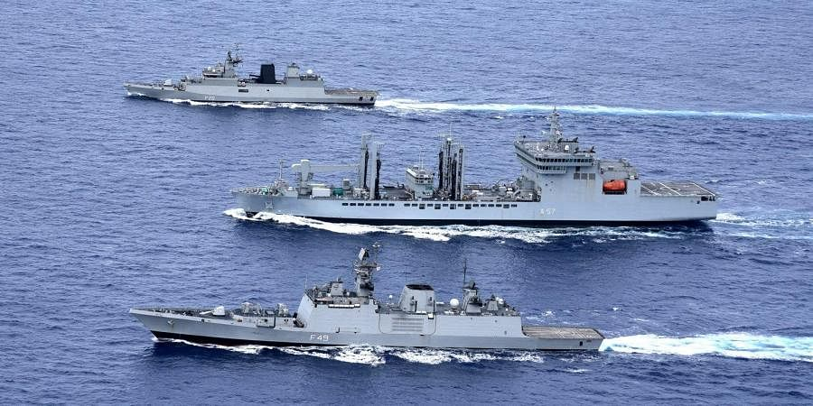 Indian Navy Warships/ Representative Image