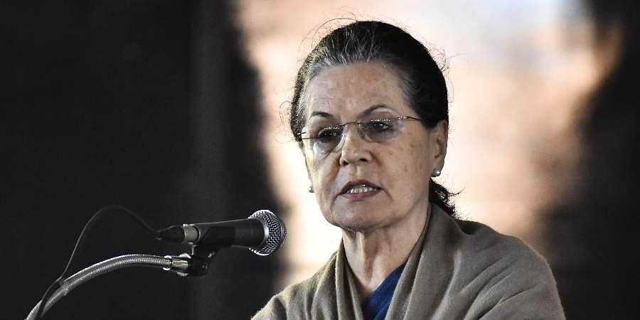 Congress interim chief Sonia Gandhi