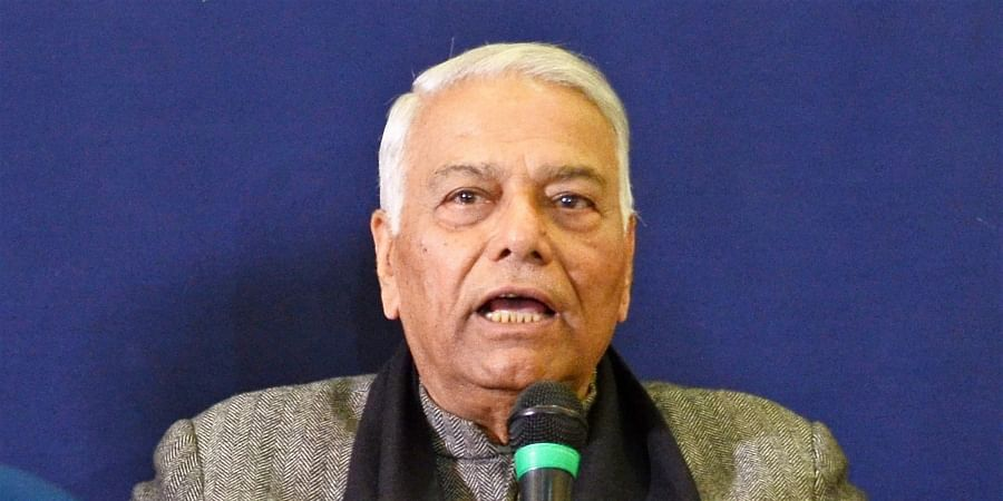 Former UnionMinister Yashwant Sinha