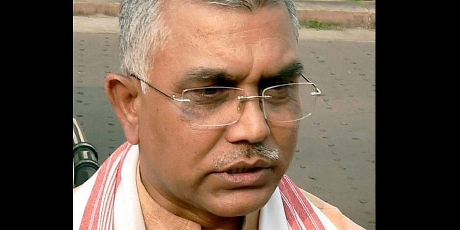 West Bengal BJP chief Dilip Ghosh (Photo | PTI)