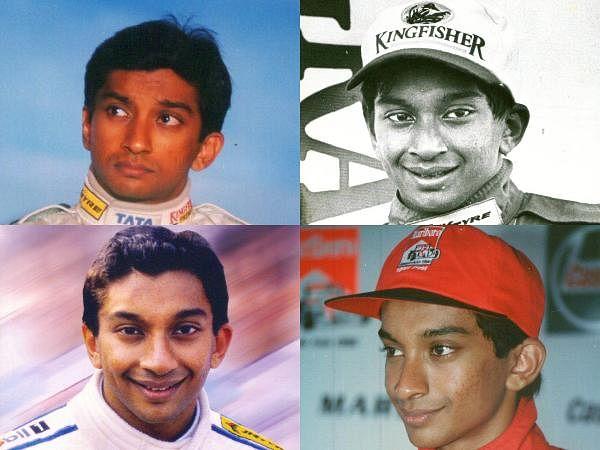 F1 racer Narain Karthikeyan during his younger days.