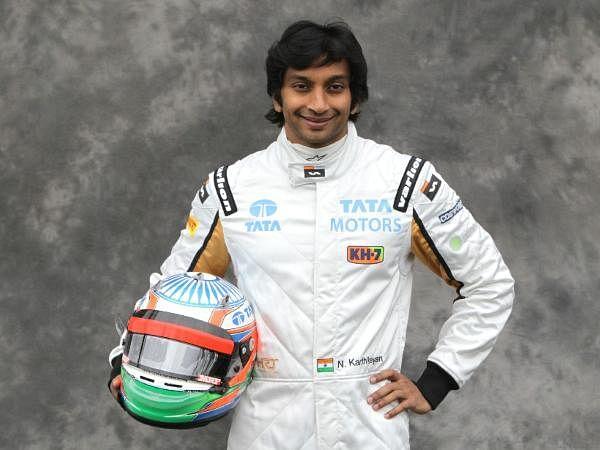 Narain Karthikeyan (IND) HRT Formula 1 Team during the Formula One World Championship, Portrait Rd1, Australian Grand Prix, Albert Park, Melbourne, Australia.