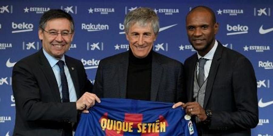 Meet Quique Setien La Liga Leader Barcelona S New Manager The New Indian Express