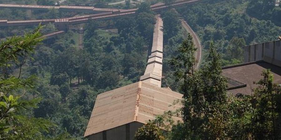 Bailadila Iron Ore Mine in Bacheli Complex