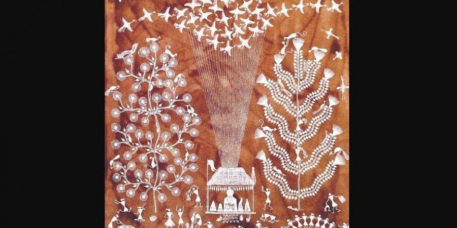 'Of Aesthetics and the Vernacular – An Insight into Warli Art' art exhibition.