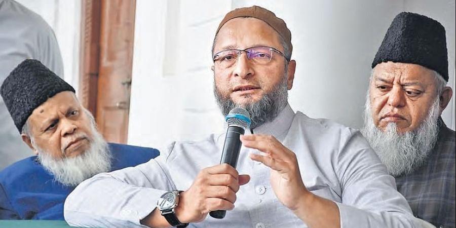 AIMIM chief Asaduddin Owaisi.