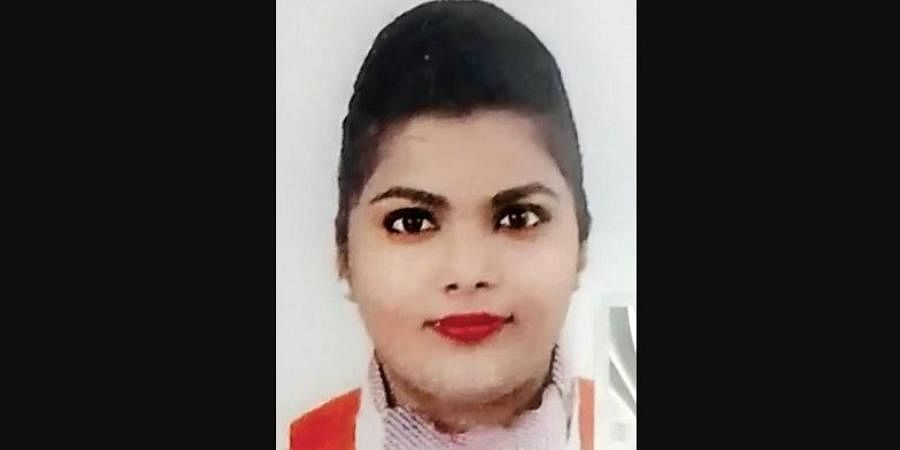 Air India staffer, Simran, who hails from Karnataka fell from the third floor of her hostel and died