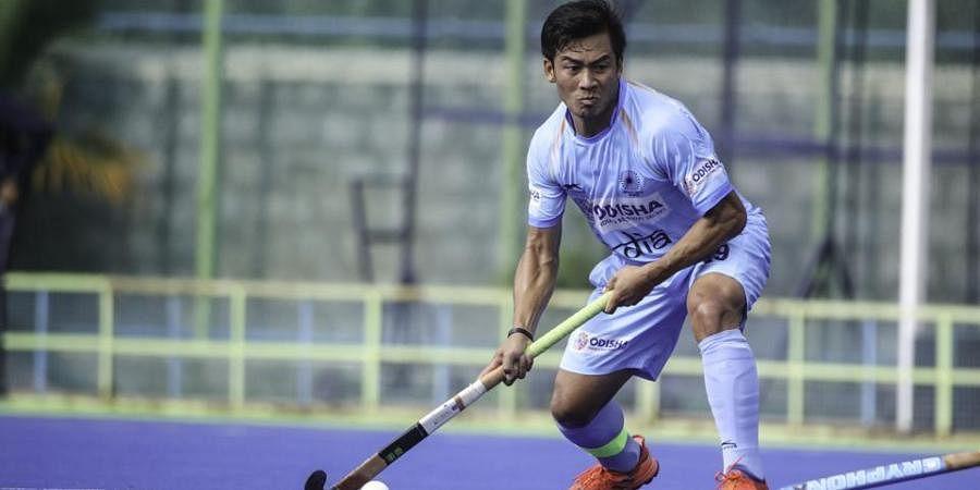India hockey team midfielder Chinglensana Singh Kangujam
