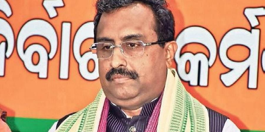 Congress clean chit to Pakistan on terror attacks shameful: Ram Madhav...