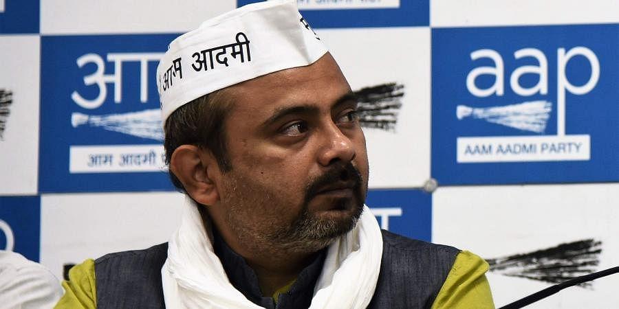AAP leader Dilip Pandey